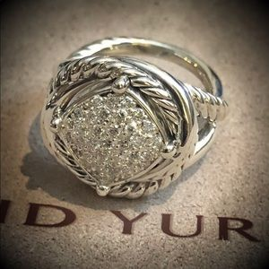 David Yurman Infinity Diamond Ring